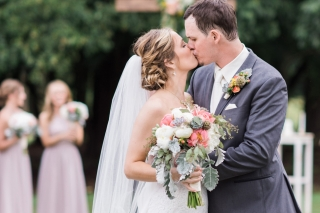 Real Fayetteville Wedding: Cymbre Rust of Dallas & Robert Lee of Springdale