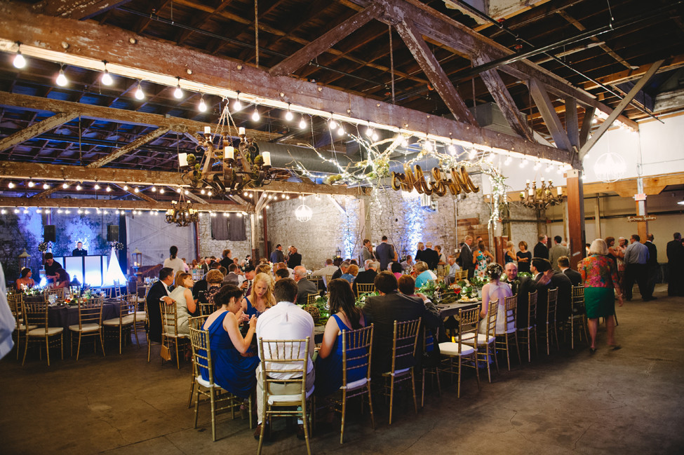 Hamp williams building wedding