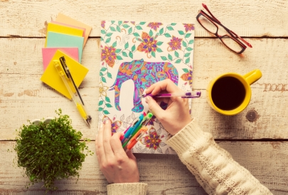 Nostalgia Meets Stress Relief at These Coloring Book Meetups for Grownups