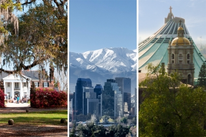 Timeless Destinations: Charleston, Santiago & Mexico City