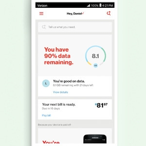 Verizon Revamps App, Wireless Plan
