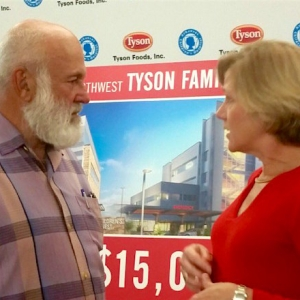 Tysons Give Arkansas Children's Northwest Record-Setting $15M