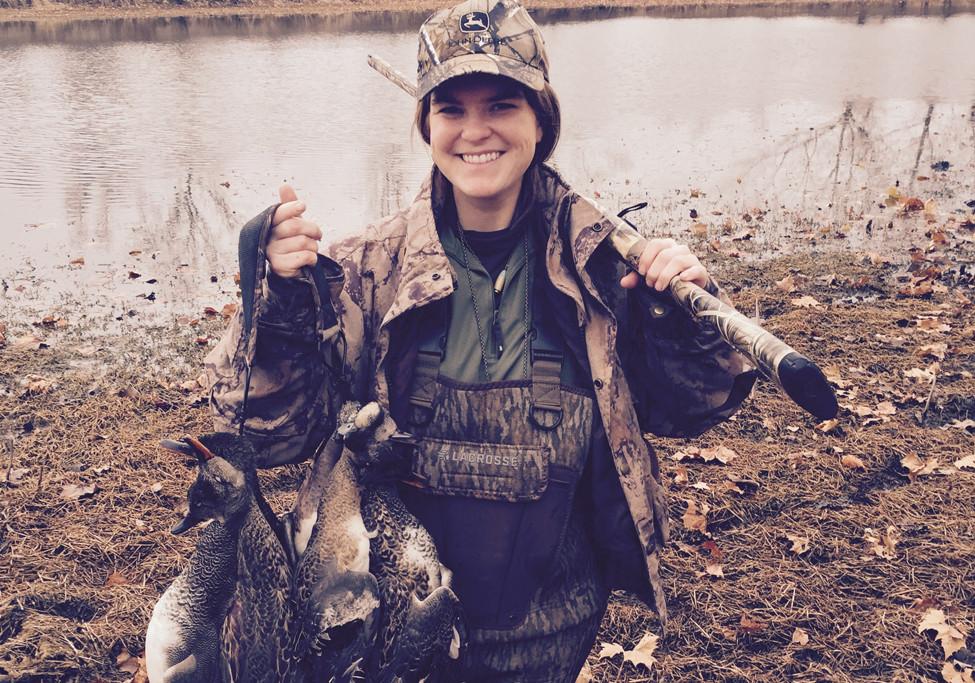 Why I Hunt Greenhead 2016 Lizzy East
