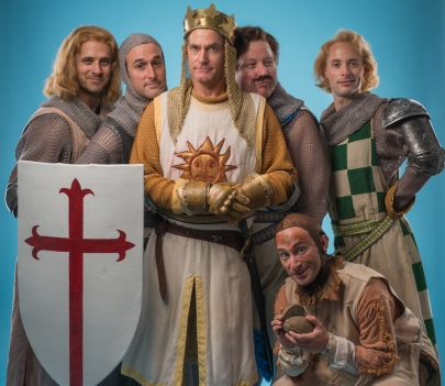Q&A With the Cast of Monty Python's 'Spamalot'