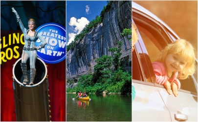 10 Events for Labor Day Weekend Fun: The Circus, River Float Trips, Date Night Ideas and More!