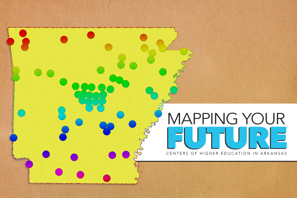 Mapping Your Future centers of higher education next