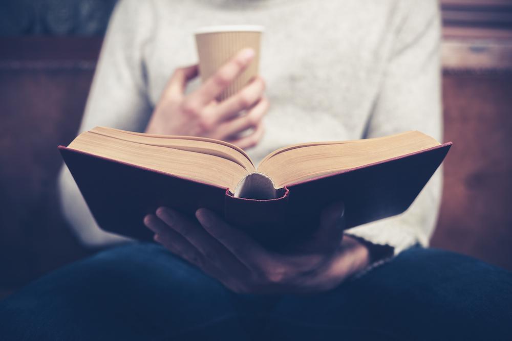books, reading, coffee