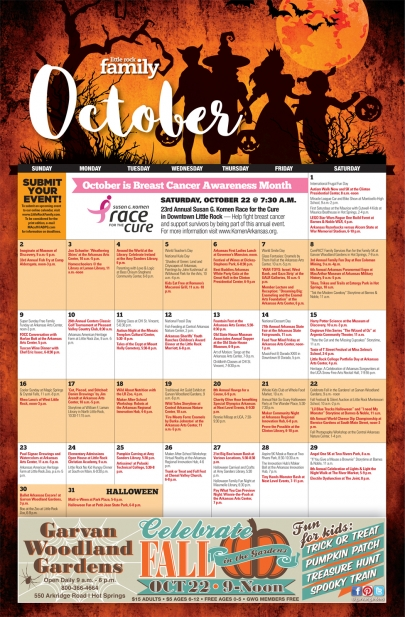 October Calendar: A Whole Month of Family Fun