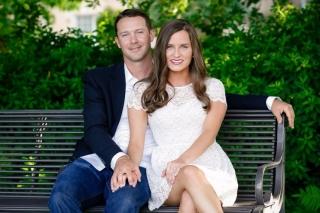 Arkansas Engagement: Morgan McCloy + Craig Parry