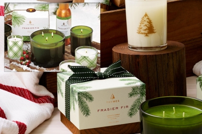 Holiday Giveaway: Win a Fraser Fir Candle from The Full Moon