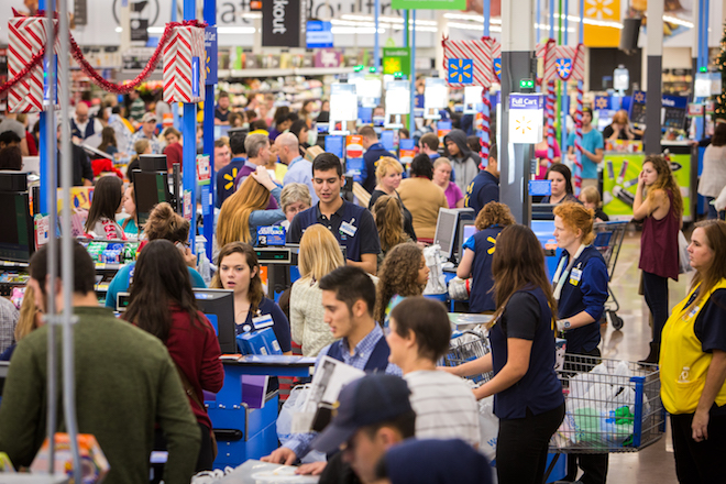 Wal-Mart Pushes Customer Service for Holiday; Target Stresses Value