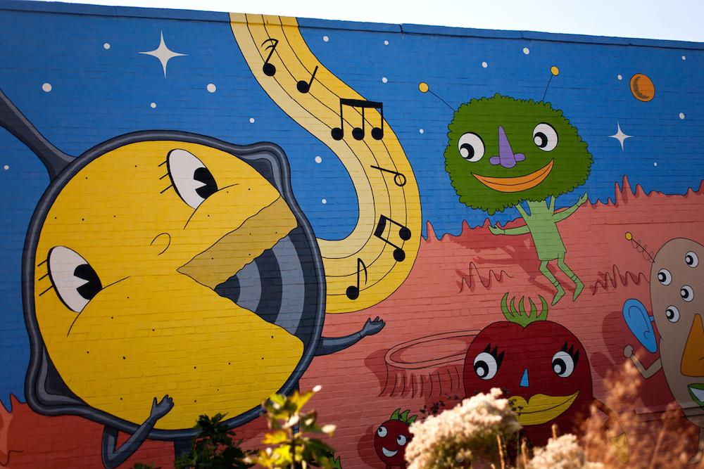 SoMa mural, South Main