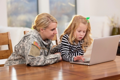 SPONSORED: How Military Families Can Use Online Public Schooling