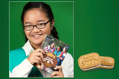 New Flavor Gives Girl Scout Cookies Taste of the Century