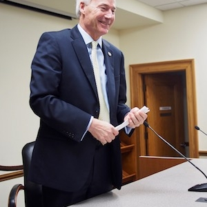 Asa Hutchinson Touts Tax Cut Plan as Lawmakers Float Delay