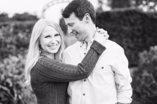 Little Rock Engagement: Lauren + Zach
