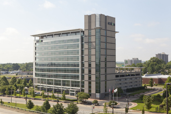 Simmons Bank Buys Acxiom Building in Downtown Little Rock