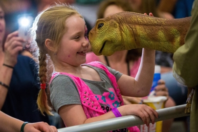 Interact With Life-Size Dinosaurs at Jurassic Quest in Conway