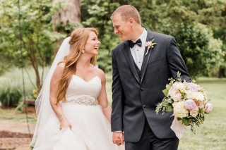 Real Fayetteville Wedding: Megan McClelland & Austin Burks