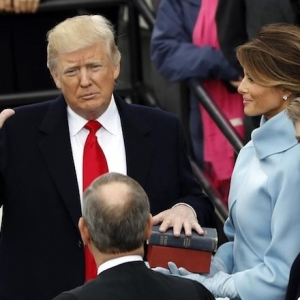 Trump, Sworn in as President, Promises to Put 'America First'
