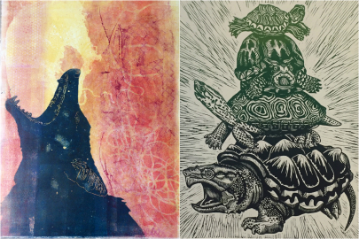 Printmaking Exhibit Opening at Wildwood Park for the Arts