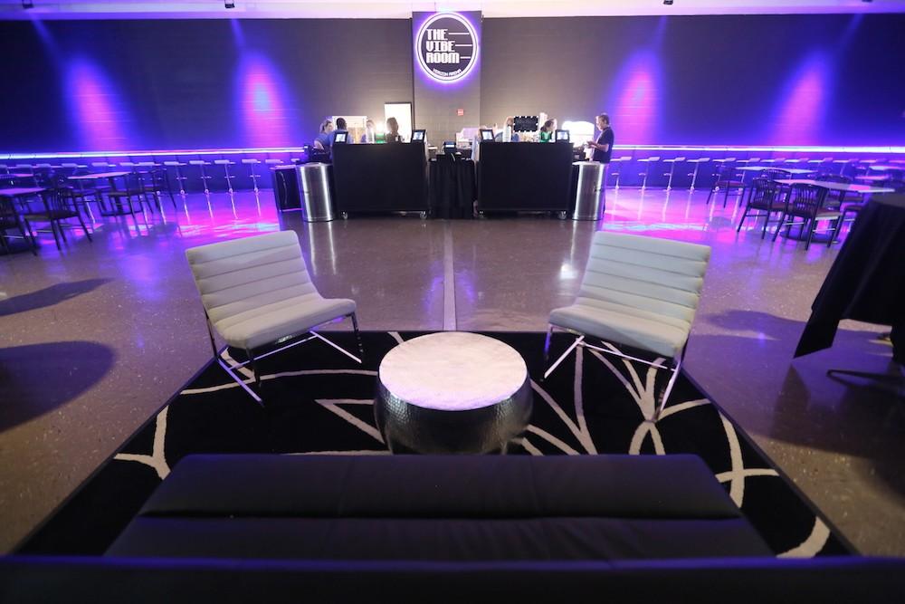 Go Vip In Verizon Arena S New Vibe Room Little Rock