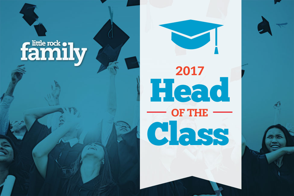 Little Rock Family Presents the 2017 Head of the Class Title Card