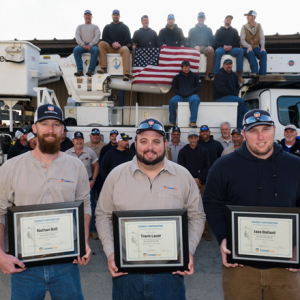 Conway Corp Trio Complete Journey to Lineman Slots (Movers & Shakers)