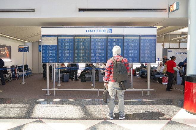 Police say United passenger dragged off flight caused his own injuries