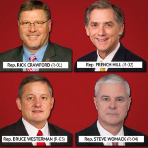 Arkansas Congressmen Vote for Republican Health Care Bill