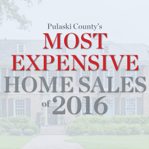 Pulaski County's Most Expensive Home Sales of 2016