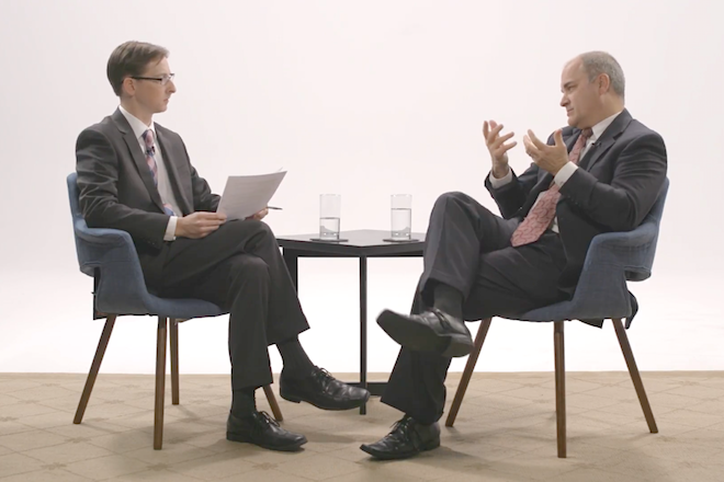 Video: A Conversation On Leadership with Jon Harrison