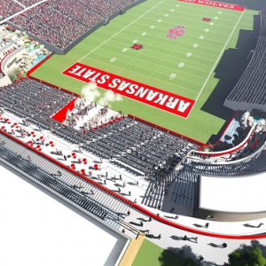 ASU Trustees Approve Lease For $29M North End Zone Project