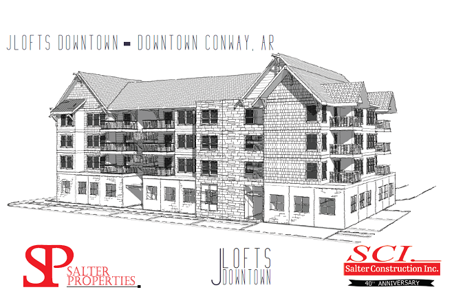 Salter Properties to Start Work on J Lofts in Conway