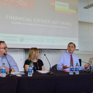 Hill, McHenry: CHOICE Act Will Help Community Banks, Fintech Startups