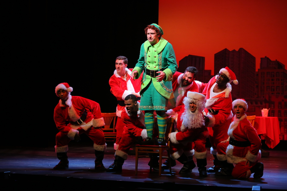 Arkansas Repertory Theatre production of Elf the Musical, The Rep