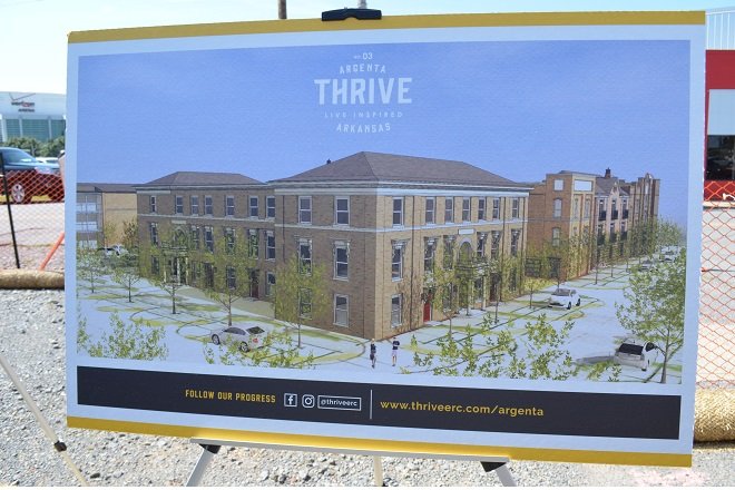 Erc Cos Breaks Ground On Thrive Apartments In Argenta Arkansas