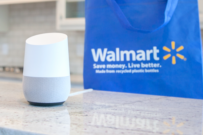 Wal-Mart, Google partner on voice ordering