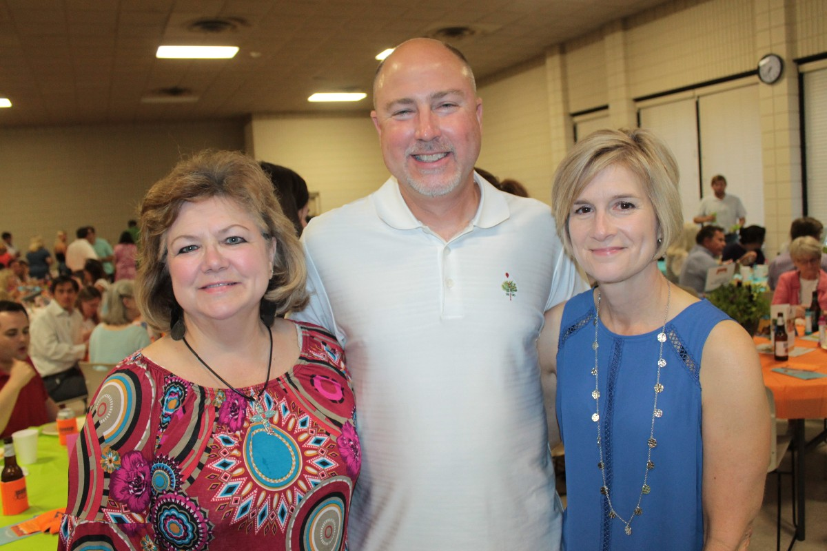Susie Thompson, Mark and Ann Langston