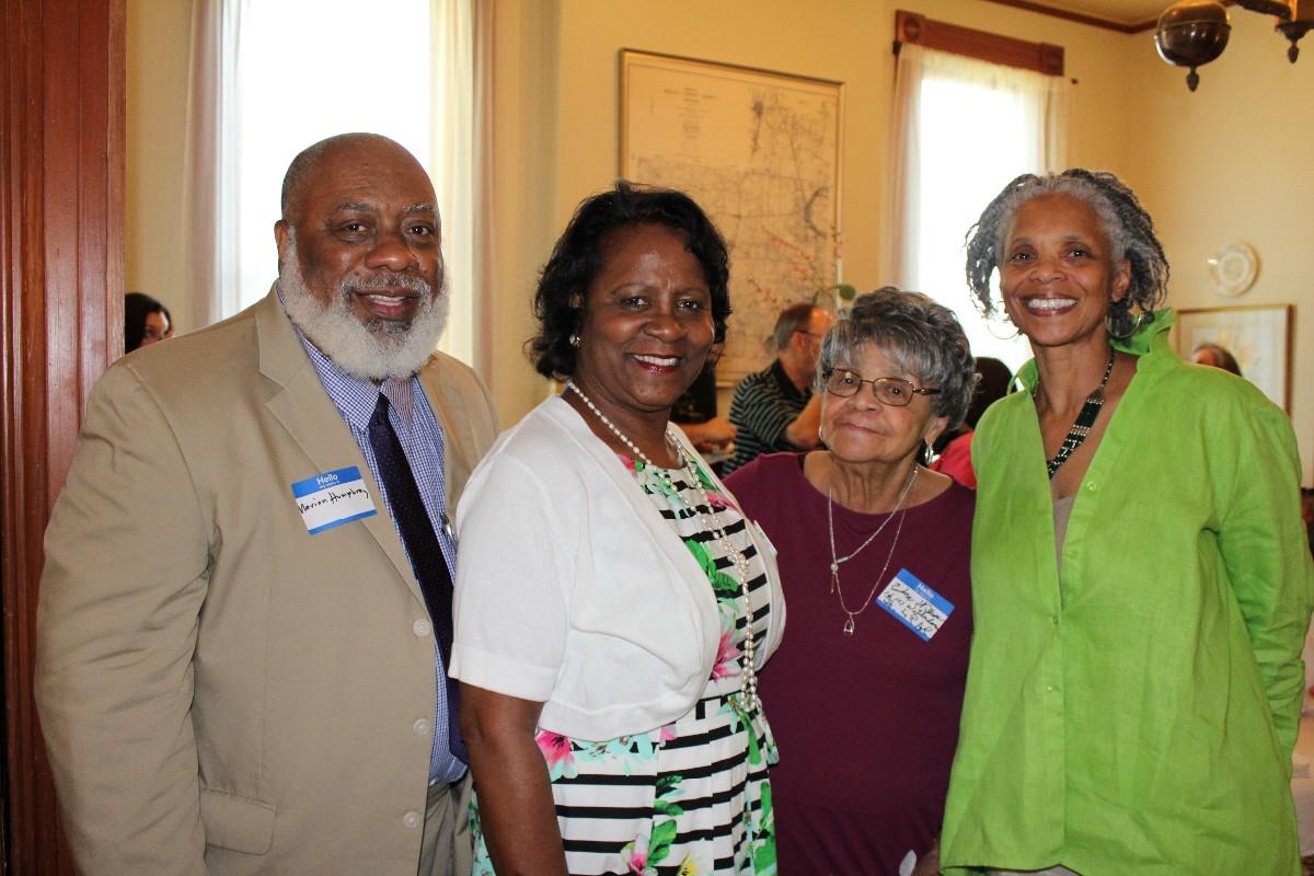 Marion and Vernita Humphrey, Edna Wilson, Glenda Wilson