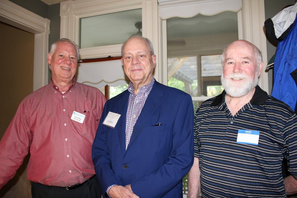 Steve Moss, Jim Hyden, Charlie Frith