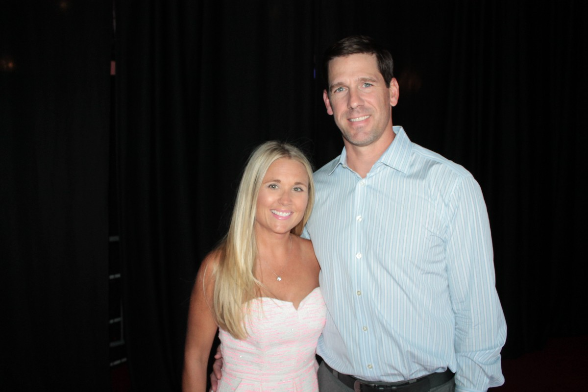 Kristen and Cliff Lee