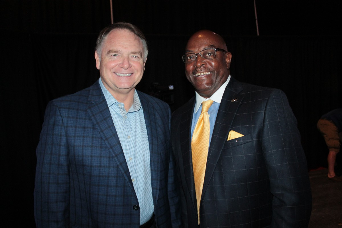 Houston Nutt, Muskie Harris
