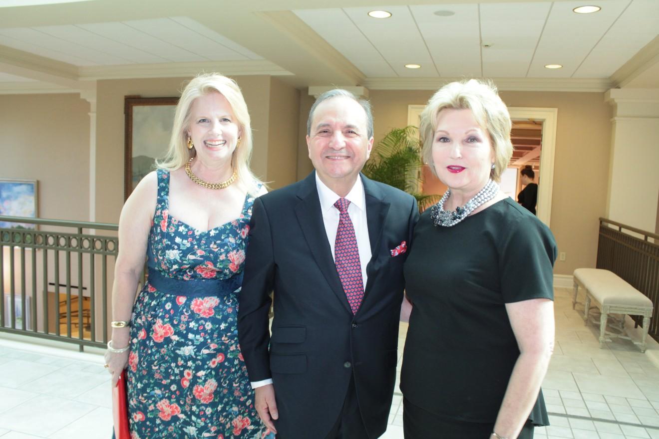 Eileen and Dr. Ricardo Sotomora, Susan Hutchinson