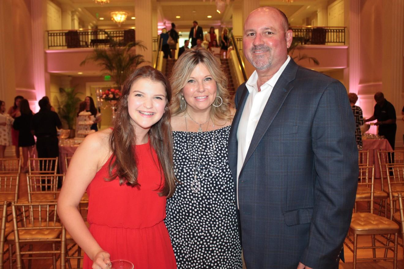 Mackenzie Tingle, Shelly and Mark Swanson