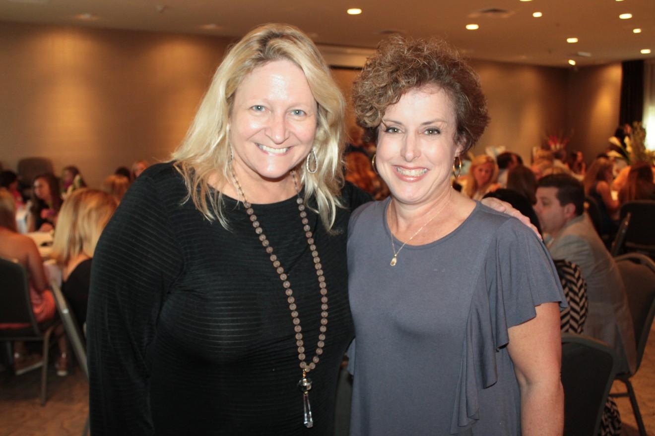 Jane Arnold, Deb Riordan