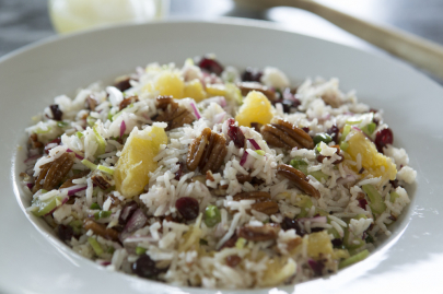 Recipe: Cranberry Pecan Rice Salad from P. Allen Smith