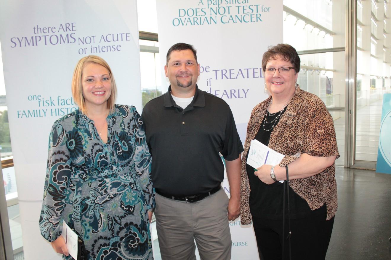 Carrie Bumgardner, Brad Smith, Janet Floyd