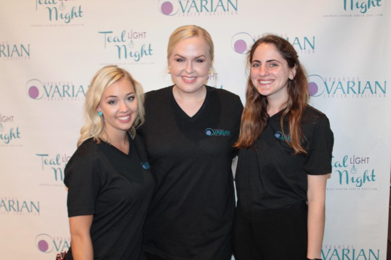 Taylor Salyer, Jasmine Haller, Caitlin Claridge
