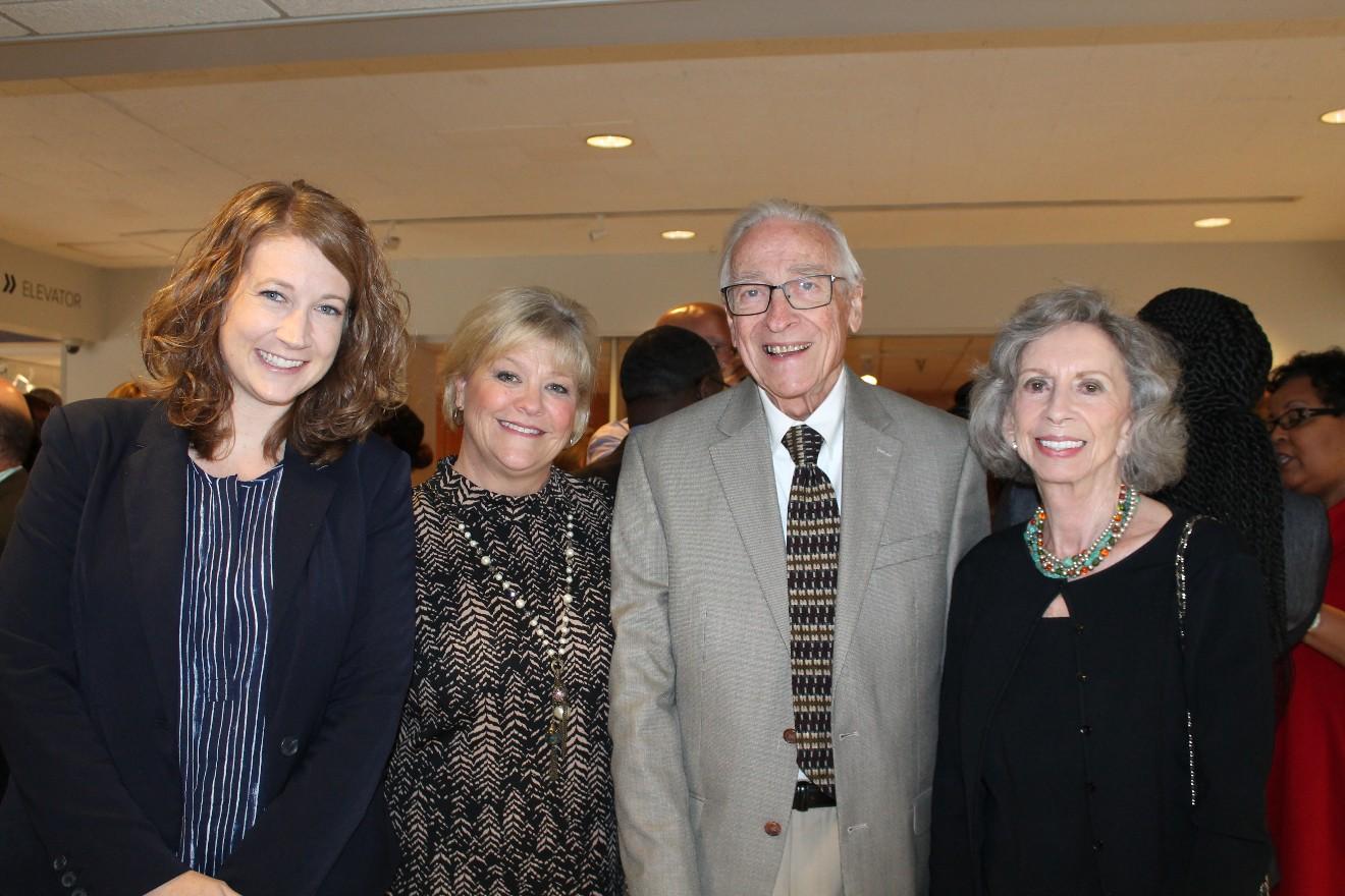 Emily Money, Ann Rosso, Lee and Beverly Bodenhammer